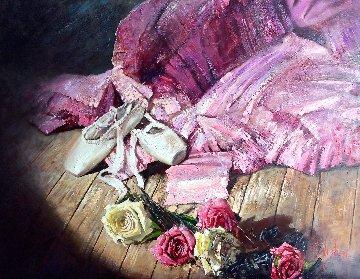 Bolshoi 33x43 Original Painting - Vladimir Mukhin
