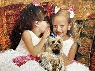 Secret 2016 34x42 Original Painting by Vladimir Mukhin - 2