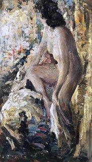Boudoir 2017 56x32 Original Painting by Vladimir Mukhin