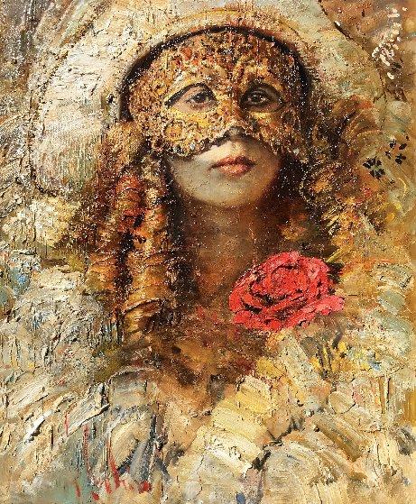 Masquerade 2017 34x30 Original Painting by Vladimir Mukhin