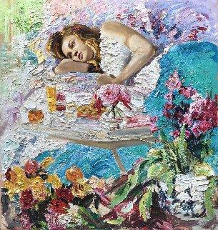 Good Morning 2017 53x50 Original Painting by Vladimir Mukhin