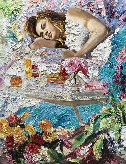 Good Morning 2017 53x50 Super Huge Original Painting - Vladimir Mukhin