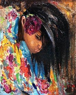 Gypsy Dance 2012 20x16 Original Painting - Vladimir Mukhin