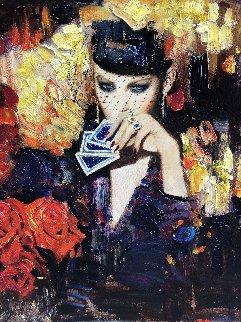 Ardor 2018 36x36 Original Painting - Vladimir Mukhin