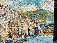 Sicily, Cefalu 2016 38x46 Super Huge Original Painting by Vladimir Mukhin - 3