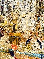 Sicily, Cefalu 2016 38x46 Super Huge Original Painting by Vladimir Mukhin - 2