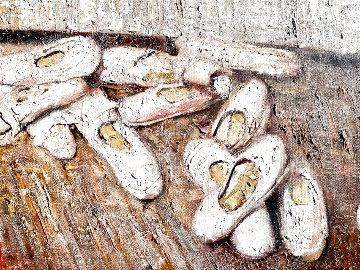 Pointe 2011 30x42 Original Painting - Vladimir Mukhin