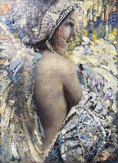 Angel 2018 32x26 Original Painting by Vladimir Mukhin