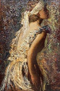 Desire 2016 42x28 Original Painting - Vladimir Mukhin