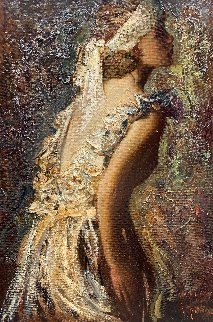 Desire 2016 42x28 Huge Original Painting - Vladimir Mukhin