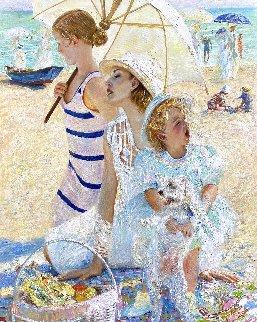 Sunny Day 2019 60x48 Original Painting by Vladimir Mukhin
