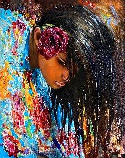 Dance 2020 25x21 Original Painting - Vladimir Mukhin