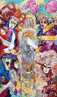 Evening Riddles 2021 78x46 Huge Original Painting - Vladimir Mukhin