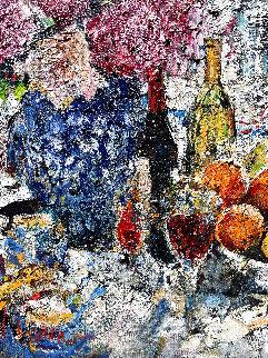 In the Garden 2015 60x40 Huge Original Painting - Vladimir Mukhin