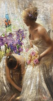 Wedding Day 2015 60x32 Original Painting by Vladimir Mukhin