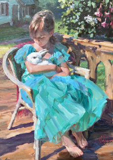 New Friendship 40x30 Original Painting by Vladimir Volegov