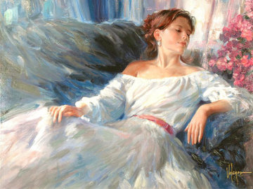 Rhapsody In Blue Embellished 2005 Limited Edition Print by Vladimir Volegov