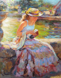 Sunday in the Park Embellished Limited Edition Print - Vladimir Volegov