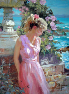 Afternoon Sunshine Embellished Limited Edition Print - Vladimir Volegov