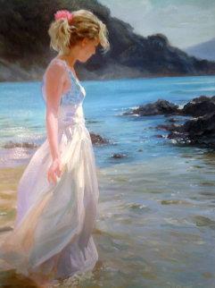 Delicate Amble Embellished Limited Edition Print - Vladimir Volegov