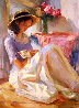 Pink Peonies 2005 40x30 Original Painting by Vladimir Volegov - 0