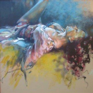 Comfort Zone 2015 40x40 Original Painting by  Voytek