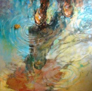 Nostalgia 2016 40x40 Huge Original Painting -  Voytek