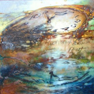 Reflection of the Past 2014 48x48 Huge Original Painting -  Voytek