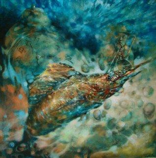 Muted Symphony-opus VI 40x40 Huge Original Painting -  Voytek