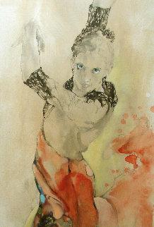 Dancer 2018 50x20 Original Painting -  Voytek