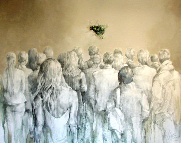 Last Butterfly 2019 48x60 Original Painting by  Voytek