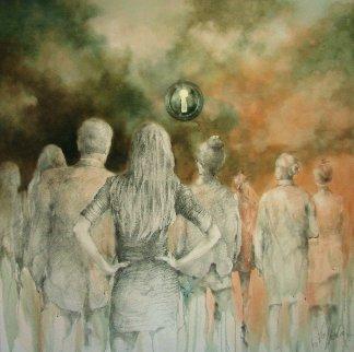 Someone Will... 2019 48x48 Original Painting by  Voytek