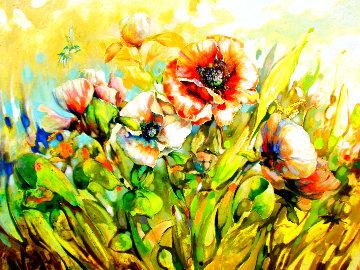 Marta's Garden With Twist 2019 48x60  Original Painting -  Voytek