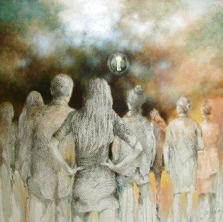 Someone Will... 2020 48x48 Huge Original Painting -  Voytek