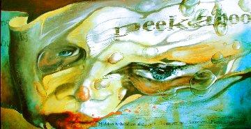Masks We Hide Behind - Face Original Painting -  Voytek