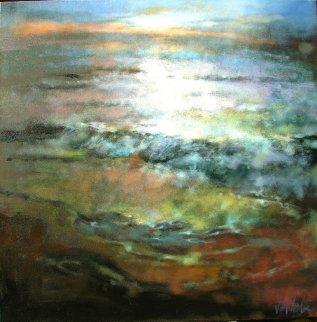 One Day in Michigan 2013  48x48 Huge Original Painting -  Voytek