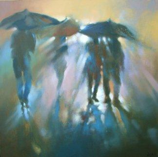 Mist 2016 36x36 Original Painting by  Voytek