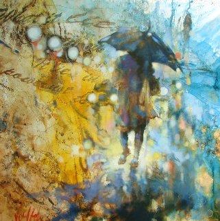 Fall Nostalgia 2016 48x48 Original Painting by  Voytek