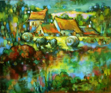 Passing Time 2016 30x36 Original Painting by  Voytek