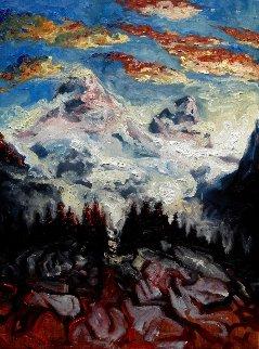 Passage 2017 31x23 Original Painting - Nico Vrielink