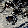 Snow in the Mountains 2016 59x78 Original Painting by Nico Vrielink - 2