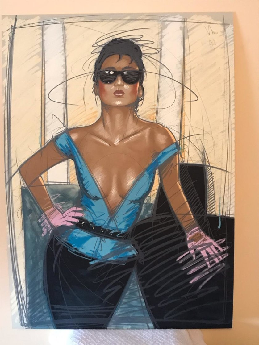 Jeane AP Limited Edition Print by Nico Vrielink