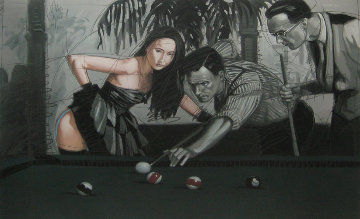 Eight Ball 1989 Limited Edition Print by Nico Vrielink