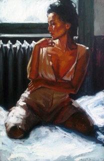 Vrielink No. 17 21x30 Original Painting - Nico Vrielink