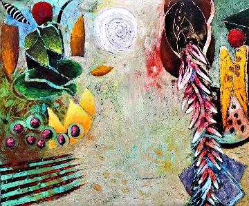 Arroyo 1994 60x72 Huge Original Painting - Jim Waid