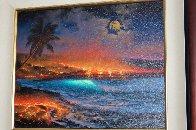 Long Journey To the Sea 2000 26x30 Original Painting by Walfrido Garcia - 3