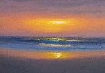 Sweet Sun of Summer 2009 12x16 Original Painting by Walfrido Garcia