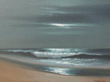 Gilgo Beach, Long Island, New York  2009 20x24 Original Painting by Walfrido Garcia