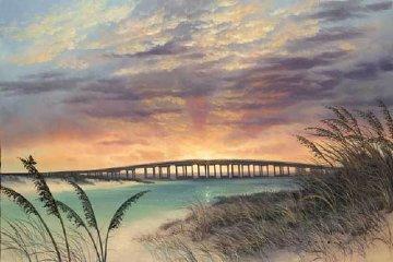 A Bridge of Destiny (Destin's Bridge) AP 2007  Limited Edition Print by Walfrido Garcia