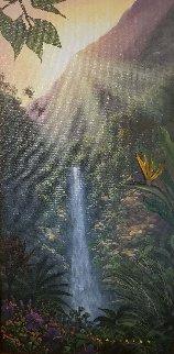 Go With the Flow 2004 Original Painting - Walfrido Garcia